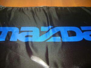 Mazda Logo 20x30 Flag Banner Show Garage Racing Shop Deco JDM RX7 Miata Speed Bl