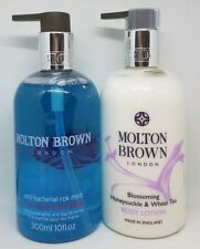 Molton Brown Blossoming Honesuckle White Tea Body lotion, Rok Mint Handwash 300