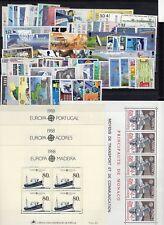 EUROPA: ANNEE 1988 QUASI COMPLETE DE 79 TIMBRES+ 4 BLOCS NEUF** Cote: 270,00 €