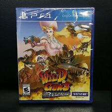Wild Guns Reloaded PS4 Game Brand New Sealed Natsume Exclusive Shooter 4 Player