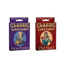 Happy Families/Old Maid Classic Card Games