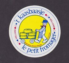 Ancienne étiquette fromage Finlande BN14482 Gouda Homme