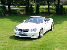 🇩🇪 Wertanlage Traumhafter weisser Mercedes SL 500 Carlsson R230 Vollaustattung