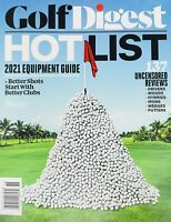 Golf Digest Hot List 2021 Equipment Guide Golf Equipment, Reviews SHIPS FREE!
