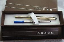 HANDSOME! Cross Executive 12K Century 0.7mm Rollerball Pen 6604 USA Logo Holes