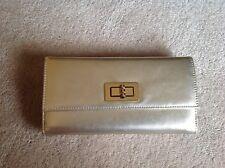 Beautiful Brand New (NWOT) Talbots Women's Silver Clutch Wallet