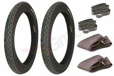 2x Motorradreifen Reifen + Schalauch + Felgenband X2 3.00-18 P22 6PR TT