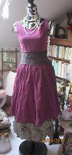 Magnifique robe violette Bohémia