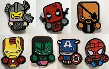 Marvel Comics Pin Collection many types scottie young style nick fury spider-man
