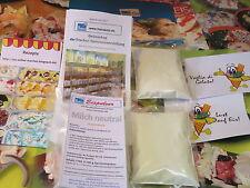 (1,30€/100 g) Milch neutral Eispulver für Haushaltseismaschinen, Eis selber mach