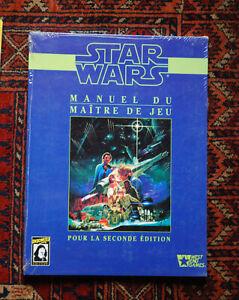 Jeu de Role - Star wars D6 descartes Manuel du maître de jeu (neuf sous blister)