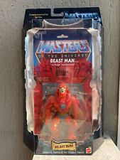 BEAST MAN Commemorative Motu Masters Universe Year 2000 Moc mattel