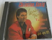 Christian König - Tausend Rote Rosen - CD Signiert