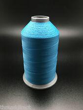8oz Spool T70 July Blue Bonded Nylon Sewing Thread 3000 Yards B69 Fabric N64