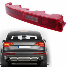 ABS for AUDI Q7 07-15 Rear Bumper Reverse Light Fog Light Reflector Left Red