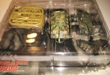 "Takara 1/144 WTM Twin Series ""Battle of the Arden"" Panther G. vs. Sherman tanks."