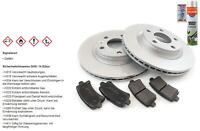 Brake Discs Pads Front Axle for Hyundai Elantra Xd 1.6
