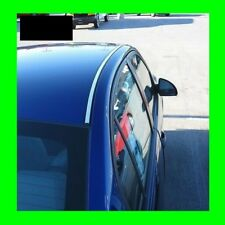 MERCEDES CHROME ROOF TRIM MOLDING 2PC W/5YR WRNTY+FREE INTERIOR PC 3