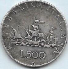 500 Lires argent 1958 R