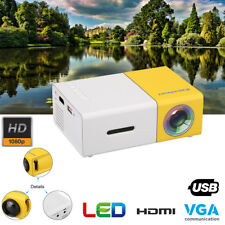 Mini LED Projector HD 1080P Mutimedia Home Theater Cinema HDMI AV/USB for Phone