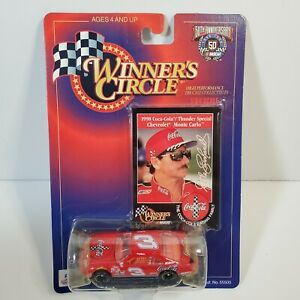Winners Circle Dale Earnhardt Trading Card And Die Cast Car 50th Anniversary