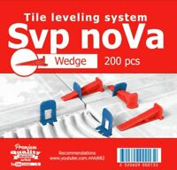 "Nivelliersystem Fliesen 200 St Keile Fliesenverlegehilfe 1-2mm ""SVP-noVa"""