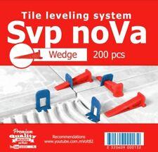 "Nivelliersystem 200 St Keile ""SVP-noVa""  Fliesenverlegehilfe Sehr elastisch!!!"