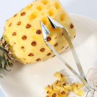 Fruit Pineapple Corer Peeler Parer Stainless Kitchen Easy Tool