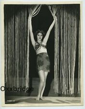 KATHLEEN BURKE Panther Woman 1932 LINEN MOUNT PHOTO Island of Lost Souls Horror