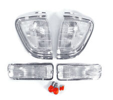 NEW 1995 1996 1997 TOYOTA TACOMA 4WD DEPO CHROME / CLEAR CORNER + BUMPER LIGHTS