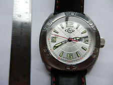 Swiss Gevril Auto Quartz Mechanical Date Day Limited Edition 6/500 Watch Boxes
