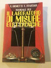 Libro Il Laboratorio Di Misure Elettroniche Di R. Giometti F. Frascati