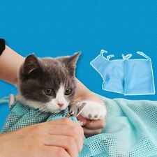 Cat Cotton Mesh Grooming Bath Bag Cat Supply Constraint Washing Pet Anti Scratch