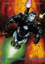 WAR MACHINE / 1993 Marvel Masterpieces BASE Trading Card #69