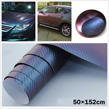 3D Waterproof Carbon Fiber Vinyl Auto Car SUV Wrap Sheet Roll Film Sticker Decal