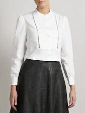 Women's Mandarin Collar Cotton Tops & Shirts