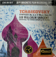 TCHAIKOVSKY SYMPHONY NO.5 SARGENT ANALOGUE PRODUCTIONS AEVC3039-45 2LP