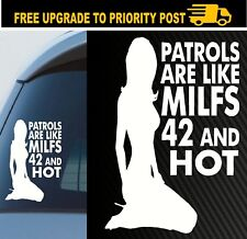 Patrol are like MILF Nissan Gu Sticker 4x4 Decals Diesel Turbo Gq Ute