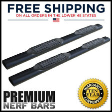 6in Black Oval Nerf Bars Running Board Steps For Classic 09 21 Ram 1500 Quad Cab Fits Dodge Ram 1500