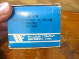 NEW Winegard TV Yagi Antenna Coupler 7-Channel / 300 OHM /  # CA-7B