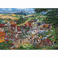 GIBSONS I LOVE THE FARMYARD 1000 PIECE MIKE JUPP HUMOUROUS JIGSAW PUZZLE