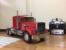 Tamiya 1/14 RC King Hauler Tractor Semi Truck RTR Used