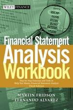 Financial Statement Analysis Workbook: Step-by-Step Exercises and Tests to Help