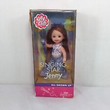 ALL GROWN UP Singing Star JENNY Doll 56621 KELLY Club 2002 Mattel      M1