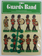 Kardsmen by Mackenzie of London Band of the Welsh Guards Paper Dolls w/ Stands