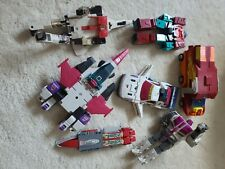 Lot of Transformers Action Figures