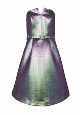 F&F Ladies Dress Iridescent Fit and Flare Size 6 New  RRP £50.00