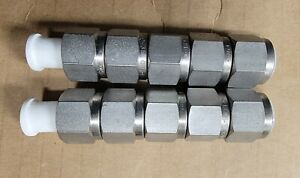 "Swagelok SS-600-NFSET 3/8"" Nuts + ferrules ( 2 Sleeve of 5 )"