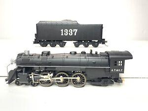 MANTUA CLASSICS HO Scale Model Steam Locomotive Engine ATSF No 1337 Santa Fe