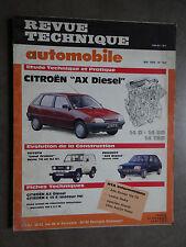 REVUE TECHNIQUE AUTOMOBILE RTA CITROEN AX PEUGEOT 205 TOYOTA LAND CRUISER 1989